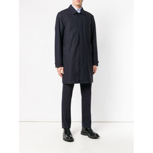 Z Zegna Classic Single Breasted Coat - New Season DNDFXMD