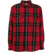Saint Laurent Plaid long-sleeve Shirt - New Season  JSPAVBQ