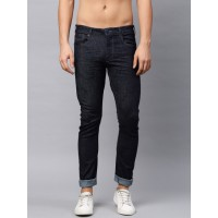 HRX by Hrithik Roshan Men Blue Skinny Fit Mid-Rise Clean Look Stretchable Jeans 2196114 SZSAGUE