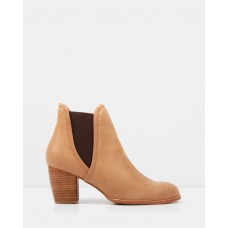 Fierce Ankle Boots Chocolate Leather JO045SH04FLJ GTZJVNO
