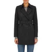 Barneys New York Cotton-Blend Belted Trench Coat  SJGXOTS