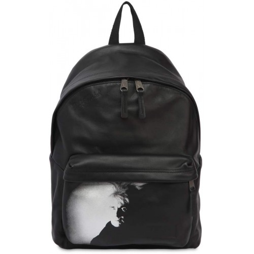 Eastpak 24l Andy Warhol Padded Leather Backpack 2018 new style IAKWTQC