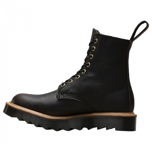 Dr Martens Pascal 8 Eye Lace Up Boots Black 2018 new style 39170711 MKBNCPO
