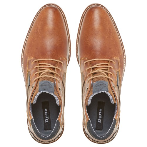 Dune Cosmo Faded Casual Chukka Boots Tan 2018 new style 47617013 YNOPKQF